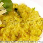 Risotto lait de coco et curry