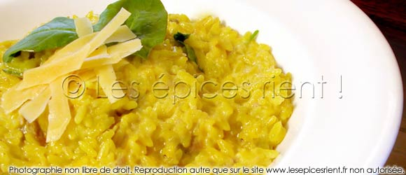 Risotto au lait de coco et curry