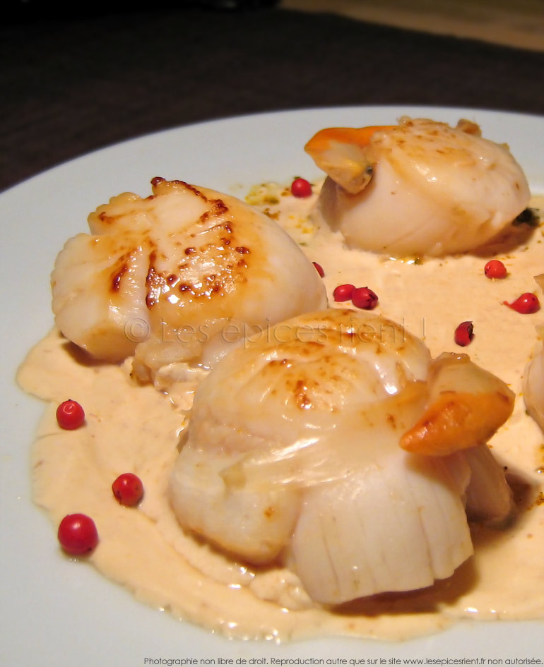 Coquilles st jacques surgeles gallery of superb cuisiner - Cuisiner les noix de st jacques surgelees ...
