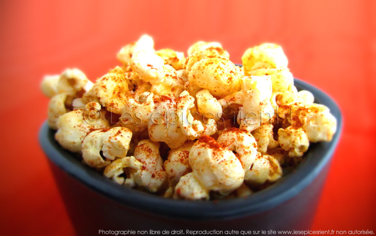 Pop corn Barbecue